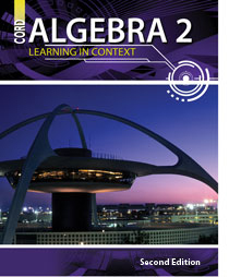 cover of algebra2 - 2nd edition textbook